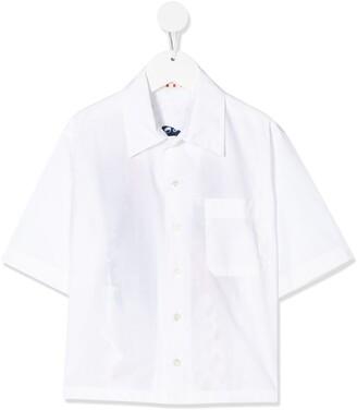 Marni rear print blouse