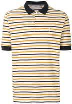 Pringle Of Scotland striped polo shirt