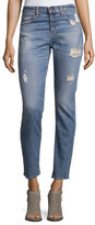 Rag & Bone Dre Distressed Ankle Jeans, Atwater