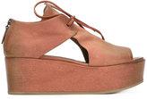 Marsèll Trampola sandals - women - Calf Leather/Leather/rubber - 38