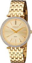 Johan Eric Fredericia Quartz Diamond Gold Stainless Steel Bracelet Watch