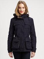 Burberry Hooded Utility Jacket
