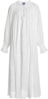 Thierry Colson Vladia Floral-Print Cotton-Gauze Maxi Dress