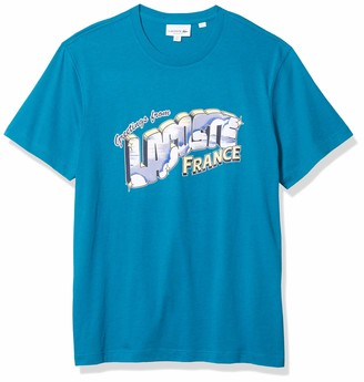 Lacoste Men's Short Sleeve Jersey Animation T-Shirt