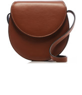 Hunting Season Nappa Leather Saddle Crossbody Bag
