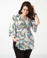 Penningtons MELISSA McCARTHY Printed Empire Top