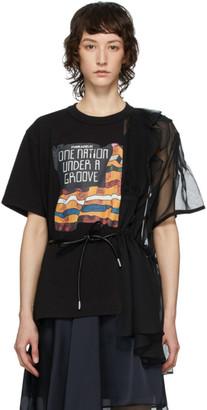 Sacai Black Funkadelic Mix T-Shirt