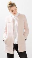 Esprit Open cotton blend tweed coat