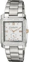 Stuhrling Original Women's Symphony Regent Lady Regency Square Swiss Quartz Swarovski Crystal Watch 402.12112