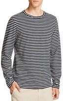 Vince Slub Knit Stripe Long Sleeve Tee