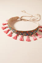 Anthropologie Juniper Tassel Belt