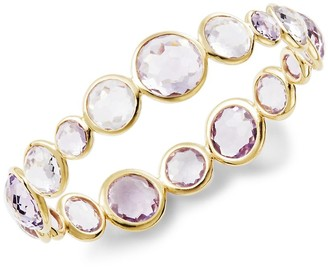Ippolita 18K Yellow Gold & Amethyst Bangle Bracelet