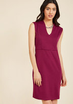 ModCloth All-Out Allure Sheath Dress in S