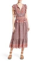 Sea Women's Selene Print Silk Midi Dress