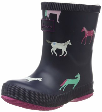 Joules Baby Girls' Welly Print Boots