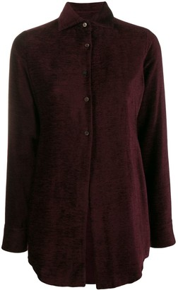Romeo Gigli Pre-Owned 1997 Textured Slim Shirt