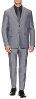 Jil Sander Wool Sharkskin Slim Fit Suit