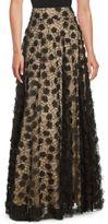 Eliza J Applique Ballgown Skirt