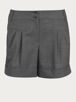 Weekend By Maxmara Pleated high-waisted culottes