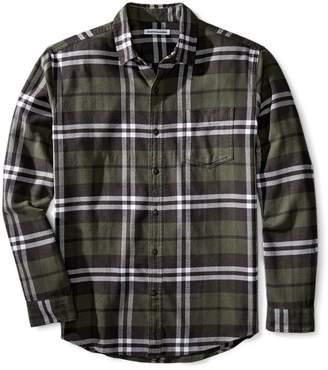 Amazon Essentials Men's Regular-Fit Long-Sleeve Plaid Flannel Shirt