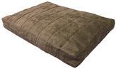 Espresso Quilt Pillow Pet Bed