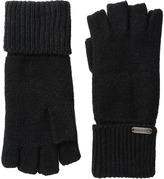 Steve Madden Boyfriend Half Finger Gloves