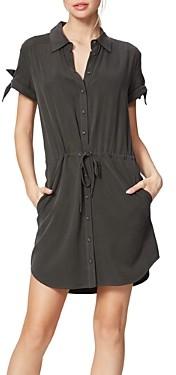 Paige Avery Drawstring-Waist Shirtdress