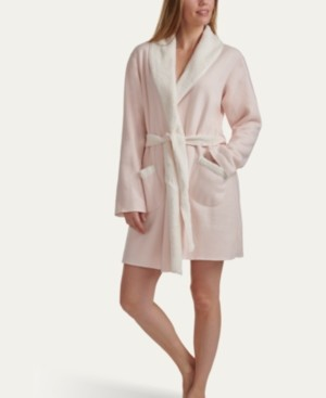 Splendid Women's Sweater-Knit Faux Sherpa Robe, Online Only