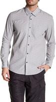 Quiksilver Long Sleeve Print Modern Fit Shirt