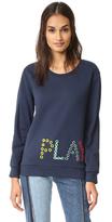 Mira Mikati Play Eyelet Sweatshirt