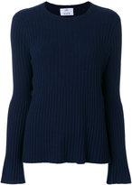 Allude flared sweater