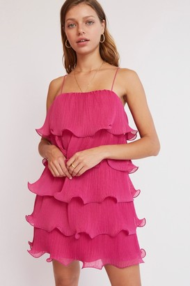 Finders Keepers BIJOU MINI DRESS Fuchsia