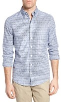 Gant Men's Windblown Check Fitted Sport Shirt
