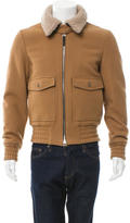 Ami Alexandre Mattiussi Wool Zip-Up Jacket