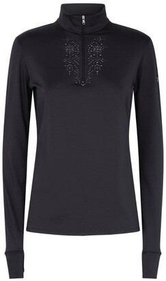 M Miller Crystal-Embellished Thermal Top