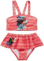 Disney Girls Princess Solid Tankini Set - Toddler