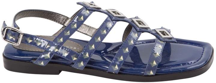 Marc by Marc Jacobs Blue Patent leather Sandals