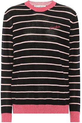 Être Cécile Frenchie striped wool-blend sweater