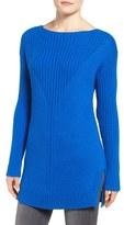 Vince Camuto Petite Women's Rib Knit Long Sweater