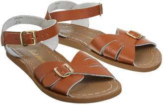 Salt Water Salt-Water - Classic Tan Leather and Rubber Sandals - Leather and Rubber | tan | 33 - Tan