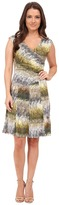 Nic+Zoe Petite Etch A Sketch Dress Linen Blend