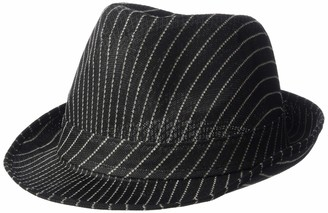 HMS Unisex-Adult's Value Striped Fedora HAT