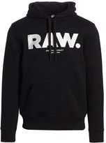 G Star Raw Silver Accent Organic Cotton Hoodie