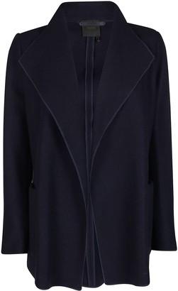 Agnona Navy Blue Cashmere Cardigan