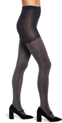 Halogen x Atlantic-Pacific Sparkle Ribbed Tights
