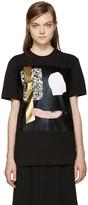McQ by Alexander McQueen Black Face T-Shirt