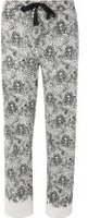 Dorothy Perkins Womens Lace Print Mix And Match Pyjama Bottoms- White