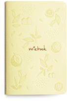 Les éditions du Paon Flower Notebook