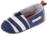 Leapfrog Baby Boys Soft Bottom Striped Loafer First Walkers Toddlers Shoes