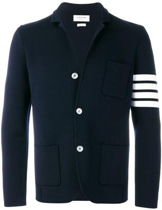 Thom Browne 4-bar Merino Sport Coat
